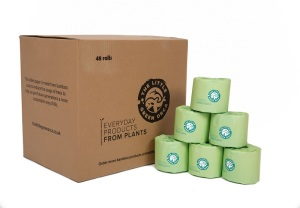 Eco-Friendly Bamboo Extra Long, Soft Toilet Paper - 24 or 48 Rolls per Box